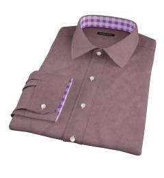 Teton Dark Brown Flannel Dress Shirt
