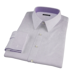 Lavender Fine Twill Dress Shirt