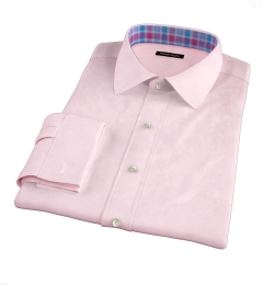 Pink 100s Twill Custom Made Shirt
