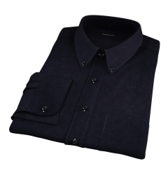 Black Heavy Oxford Custom Made Shirt