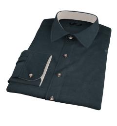 Hunter Green Teton Flannel Dress Shirt