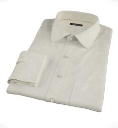 Ivory Regal Twill Dress Shirt