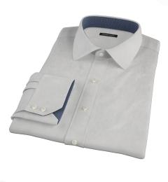Canclini Light Gray End on End Dress Shirt