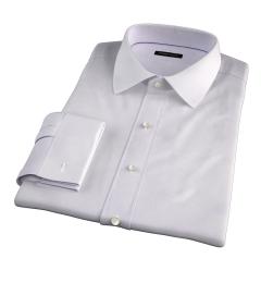 Modena Aqua and Apricot Tattersall Tailor Made Shirt