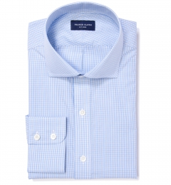 Astor Blue Multi Check Tailor Made Shirt