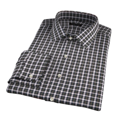 Lorimer Green and Orange Plaid Tailor Made Shirt