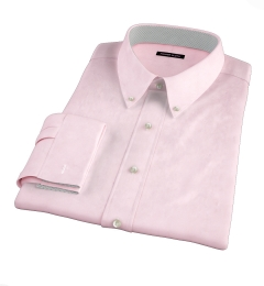 Pink 100s End-on-End Tailor Made Shirt