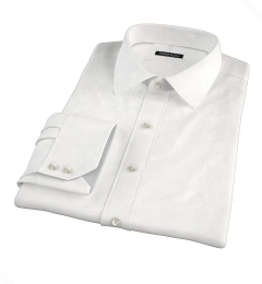 Miles White 120s Broadcloth Tailor Made Shirt