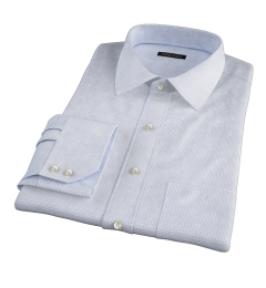Madison Light Blue Tattersall Tailor Made Shirt