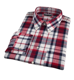 Dorado Red Plaid Tailor Made Shirt