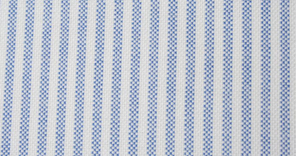 French Blue Stripe Heavy Oxford Cloth Shirts by Proper Cloth