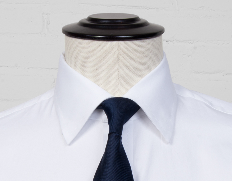 Hidden button down collar proper cloth for Button down collar dress shirts