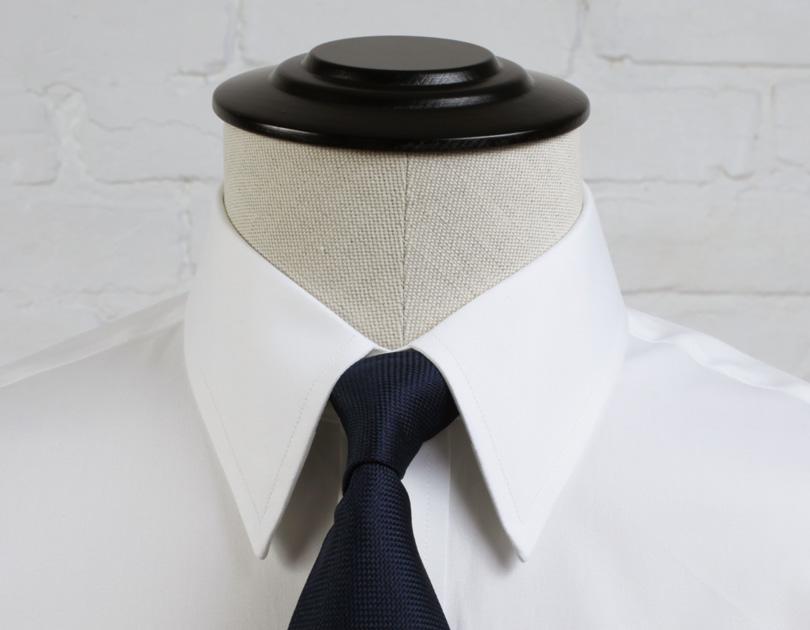 Straight Point Collar Proper Cloth