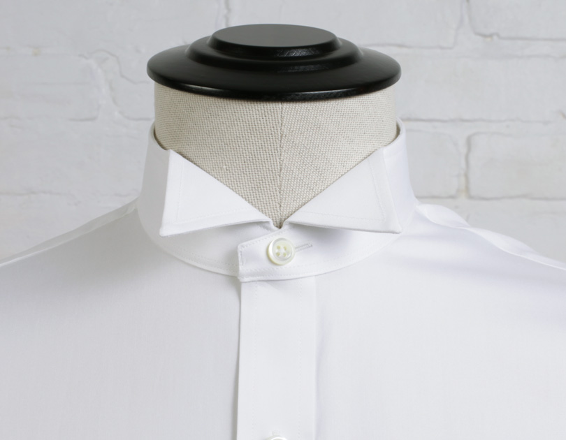 Wingtip collar by proper cloth for Wing tip collar shirt