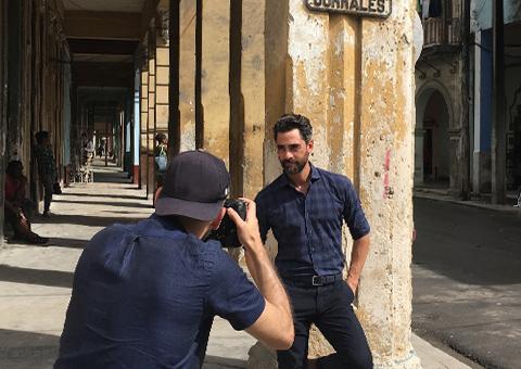 Havana Summer Lookbook Behind the Scenes