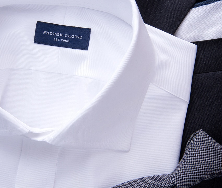 Sea Island White Shirt