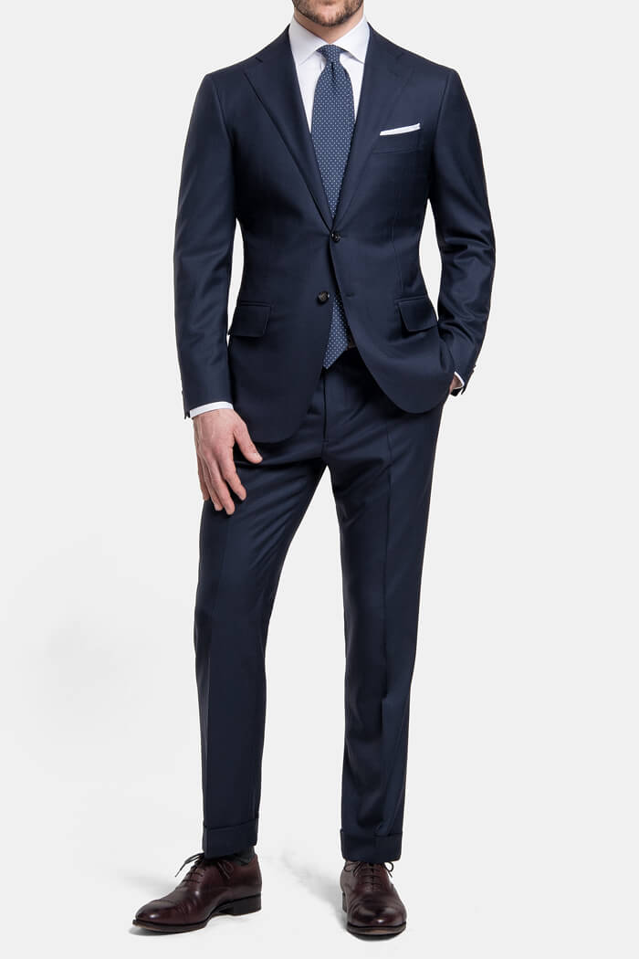 Mercer Navy VBC 150s Suit