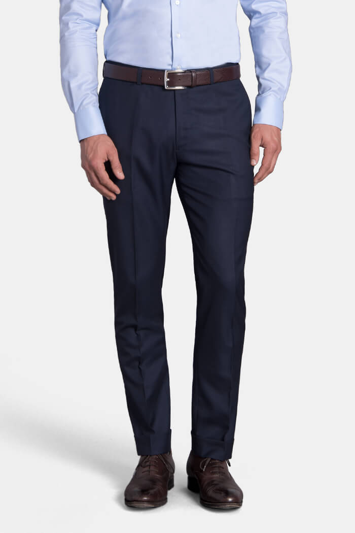 Mercer Navy VBC 150s Trouser