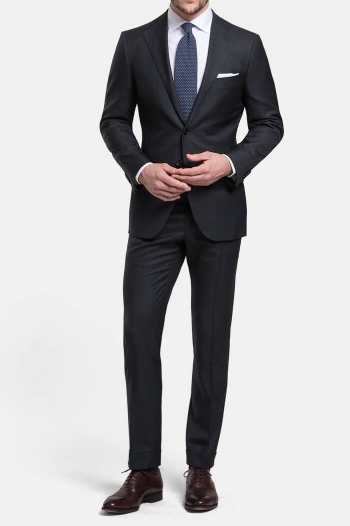 Mercer Charcoal VBC 150s Suit