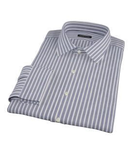 Navy Stripe Custom Made Shirt