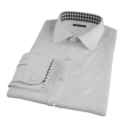 Charcoal Heavy Oxford Fitted Shirt