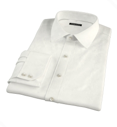 Ivory Fine Twill Custom Dress Shirt