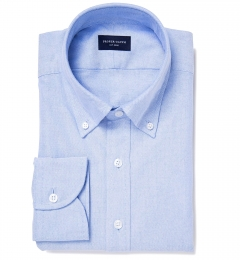 Light Blue Heavy Oxford Dress Shirt