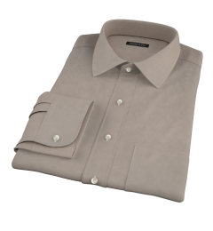 Olive Chino Fitted Shirt