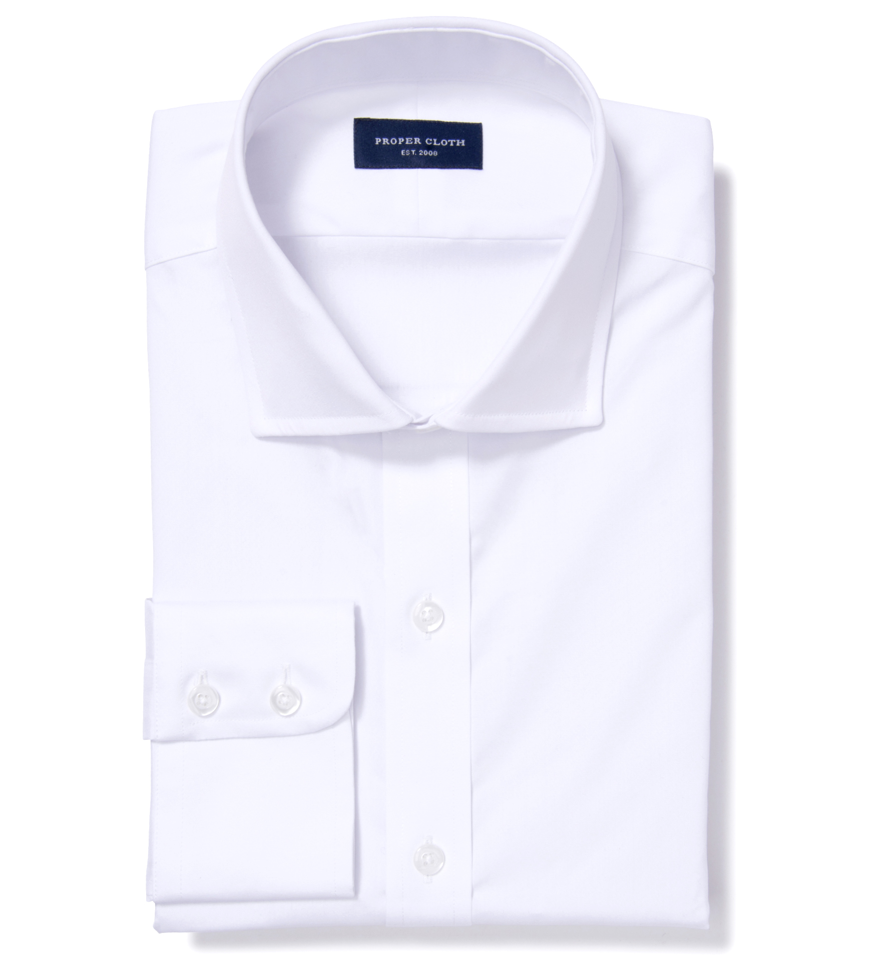 White extra wrinkle resistant pinpoint dress shirt by for Wrinkle resistant dress shirts