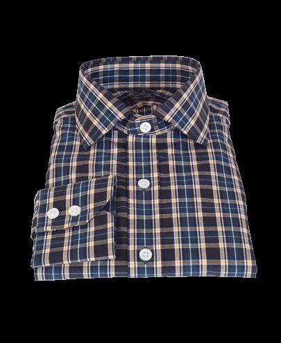 Whistler Green Plaid Men's Dress Shirt