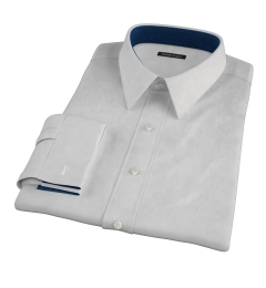 Charcoal Heavy Oxford Fitted Dress Shirt