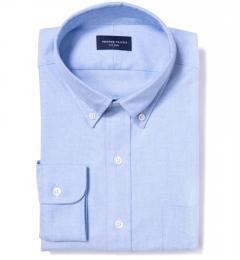 Light Blue Heavy Oxford Dress Shirt