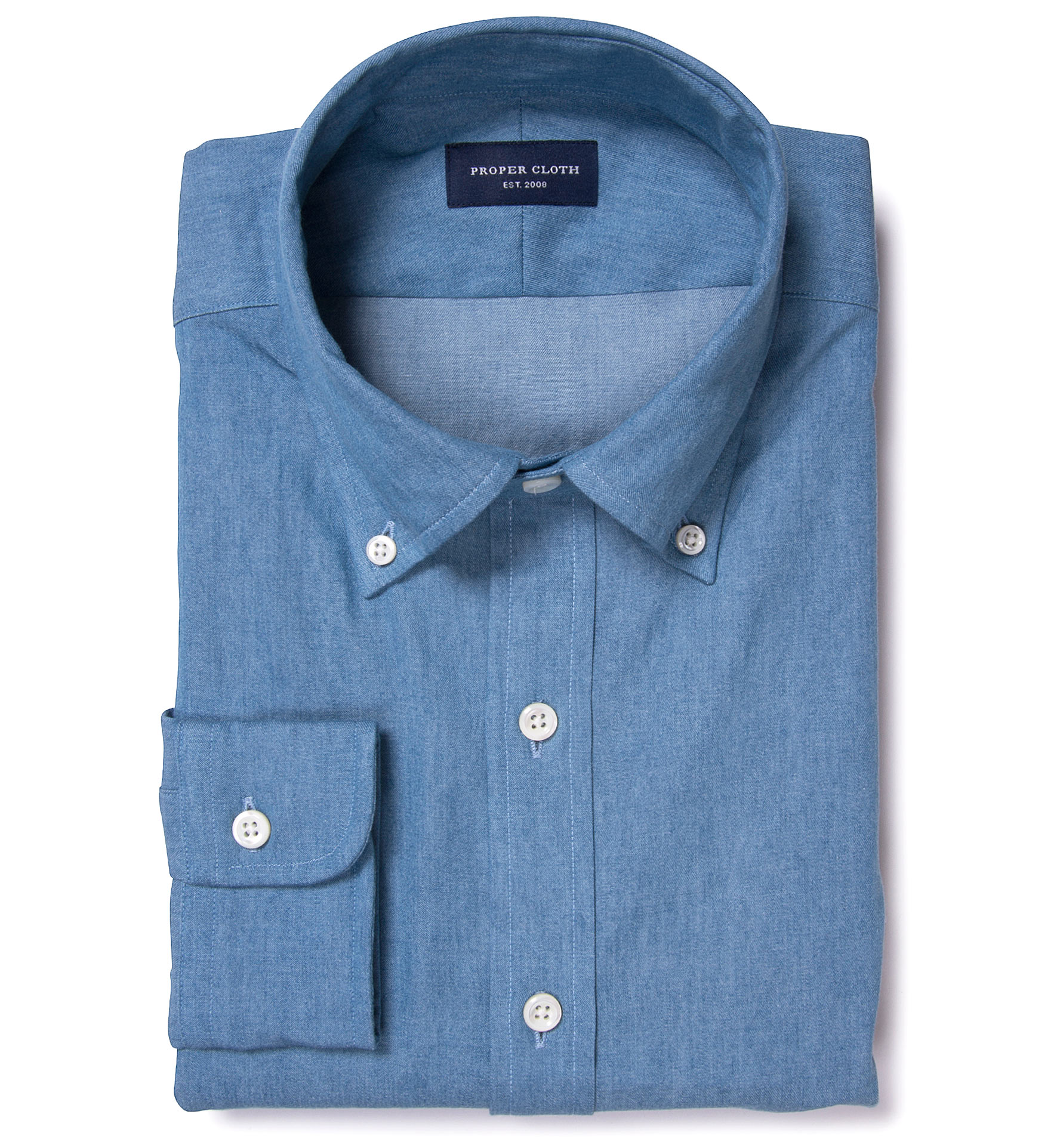 Chambray Vs Denim Proper Cloth Reference