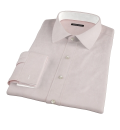 Bowery Peach Wrinkle-Resistant Pinpoint Men's Dress Shirt