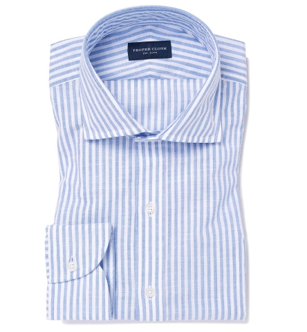 Custom popover shirts proper cloth for Proper cloth custom shirt price