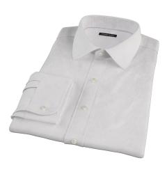 140s Lavender Wrinkle Resistant Grid Tailor Made Shirt
