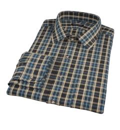 Whistler Green Plaid Custom Dress Shirt