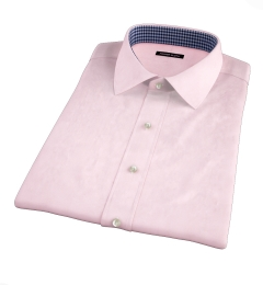 Bowery Pink Wrinkle-Resistant Pinpoint Short Sleeve Shirt