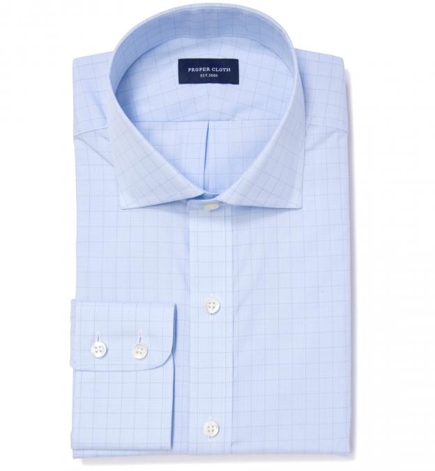 Thomas mason goldline prince of wales check custom dress for Thomas mason dress shirts