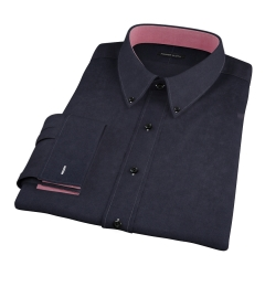 Wythe Black Oxford Dress Shirt