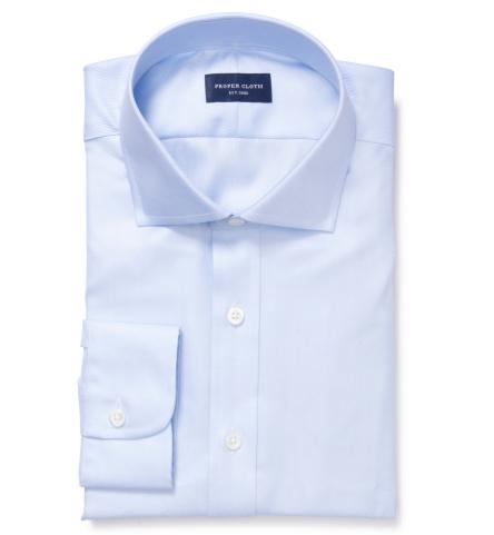 Thomas mason blue wr imperial twill dress shirt by proper for Thomas mason dress shirts