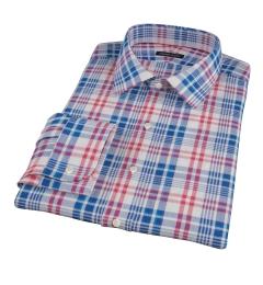 Red White Blue Madras Tailor Made Shirt