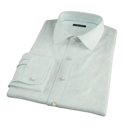 Bowery Mint Wrinkle-Resistant Pinpoint Tailor Made Shirt