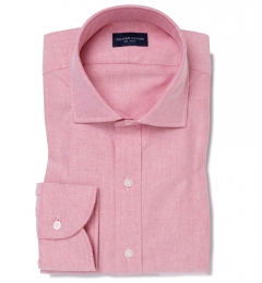 Red Heavy Oxford Dress Shirt