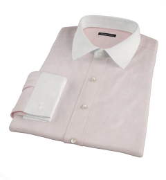 Bowery Peach Wrinkle-Resistant Pinpoint Tailor Made Shirt