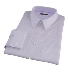 Lilac Heavy Oxford Custom Dress Shirt