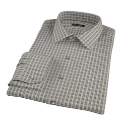 Honey Glazed Oxford Cloth Custom Dress Shirt