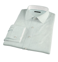 Bowery Mint Wrinkle-Resistant Pinpoint Custom Dress Shirt